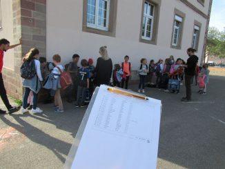 Un soir au périscolaire de l'école élémentaire du Nord à Illkirch