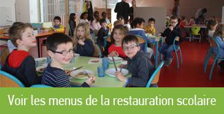 Voir les menus de la restauration