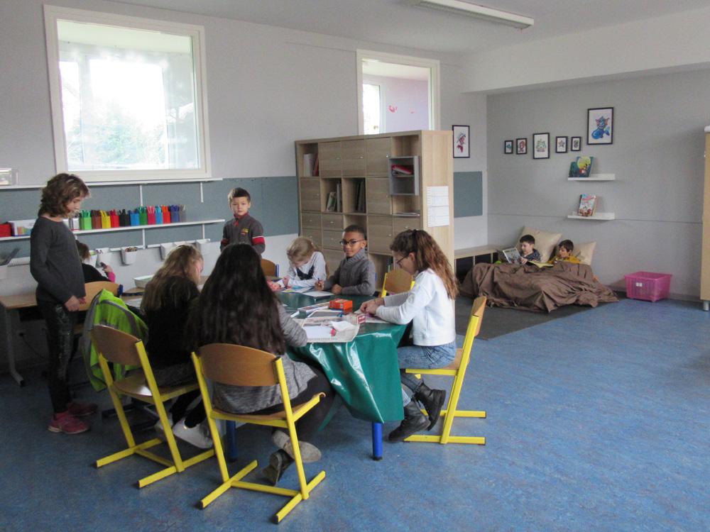 Les coulisses du périscolaire élémentaire des Vergers à Illkirch